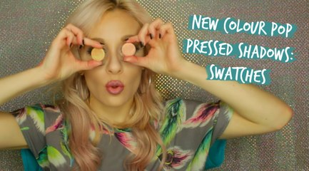 Colour Pop Pressed Shadows | New Shades + Swatches