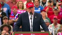 Etats-Unis  - Donald Trump présente son cab