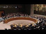 Russia's UN envoy speaks as country takes over presidency in Security Council