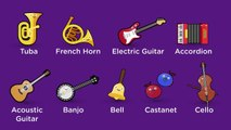Musical Instruments Sounds For Kids (27 Instruments)
