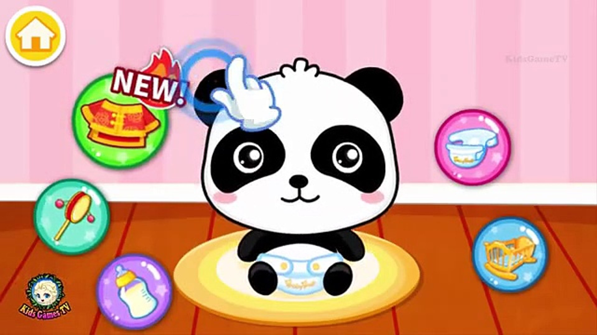 Baby Panda Care - Funny Games for kids _ #Animation Education Cartoons