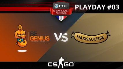 CS:GO - Begenius vs MaxiSaucisse - Nuke - ESL Championnat National - Summer 2017 - Map 2