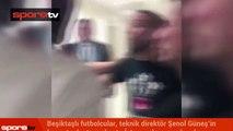 Beşiktaşlı oyuncular basın toplantısını bastı! İşte perde arkası!...