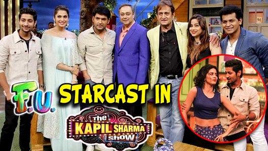 FU Starcast In The Kapil Sharma Show | Akash Thosar, Mahesh Manjrekar &  Sanskruti Balgude|