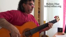Modern vs Pre-Paco Tangos (Speed like & as a guitar-solo)Learning Paco de Lucia´s style /Ruben Diaz