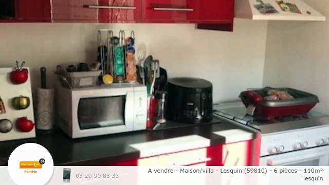 A vendre - Maison/villa - Lesquin (59810) - 6 pièces - 110m²