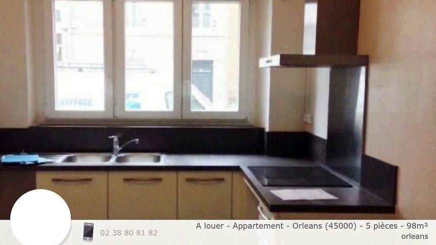 A louer - Appartement - Orleans (45000) - 5 pièces - 98m²