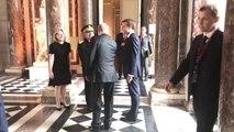 Emmanuel Macron accueille Vladimir Poutine à Versailles