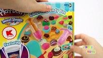 [Play-doh] Play Doh Playset Like Real Food Ice Cream Sandwich Cupcake Dessert Candy Kids