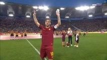 Veja como foi a emocionante despedida de Totti que levou todos no estádio da Roma às lágrimas