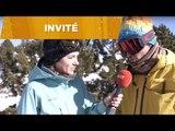 Sylvain Lombart, Tess Ledeux & Alex Bellemare face à Mathilde / Ski freestyle
