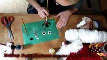 DIY pom pom Teddy Bear | Valentines day gift | Yarn craft | How to make yarn pom pom