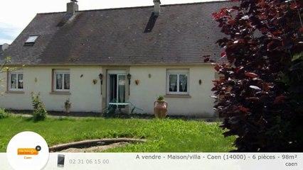 A vendre - Maison/villa - Caen (14000) - 6 pièces - 98m²