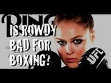 """Santa Cruz ON Rousey Ring Mag COVER """"IT'S A CONFLICT, BRINGS MMA UP, IT'S WRONG"""""""