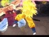 Sparking meteor Goku SSJ 3 Vs Broly Legendaire