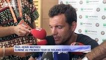 """Roland Garros – Paul-Henri Mathieu : """"Je remercie tous les gens qui m'ont supporté"""""""
