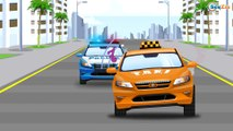 Police Car Real New Cars for Kids - Emergency Vehicles Race | Cars & Trucks Cartoons for children