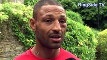 Kell Brook explains what happened to his eye during his defeat to Spence Jr
