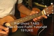 How to do the Reggae Strum on Ukulele - Ukulele Lesson - Ukulele Tutorial - Strum Pattern