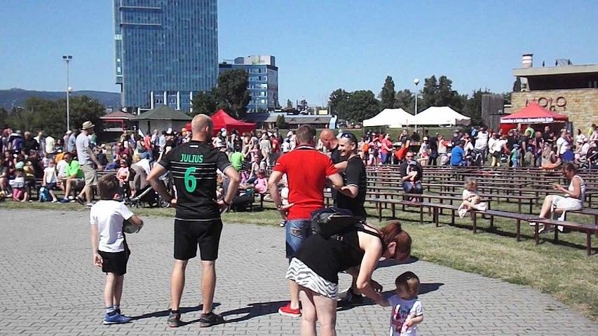 Deň detí s RKB Children's Day with RKB - tpresentation Rugby Bratislava