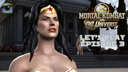 Let's Play Mortal Kombat vs. DC Universe (Xbox 360) - Episode 3