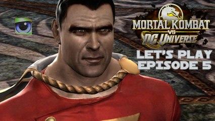 Let's Play Mortal Kombat vs. DC Universe (Xbox 360) - Episode 5
