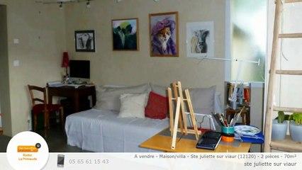 A vendre - Maison/villa - Ste juliette sur viaur (12120) - 2 pièces - 70m²