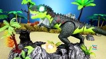 Dinosaur Walking Tyrannosaurus Rex Triceratops Spinosaurus - Dinosaurs Toys Collection For