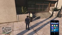 Spining Lady - GTA V on PS4 Funny Moments