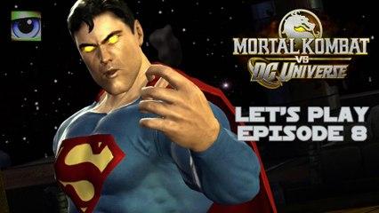 Let's Play Mortal Kombat vs. DC Universe (Xbox 360) - Episode 8