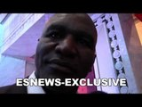 Evander Holyfield on getting robbed big time in the Olympics - EsNews Boxing