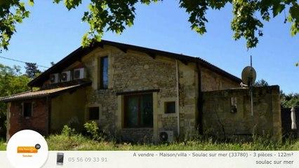 A vendre - Maison/villa - Soulac sur mer (33780) - 3 pièces - 122m²