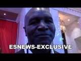 What does Muhammad Ali mean to Evander Holyfield - EsNews Boxing