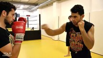Cours de boxe pour débutant  - coups de poing (JAB,