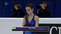 Ivett Toth - Free Skating - 2016 European Figure Skating Cha