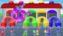 Coloring Pages Dreamworks TROLLS Coloring Book Videos for Children Learning Brilliant Colo