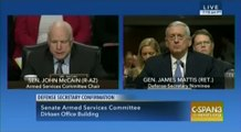 Defense Secretary Nominee General James Mattis Testif