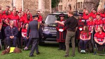 Prince Harry unveils UK squad for Invictus Games