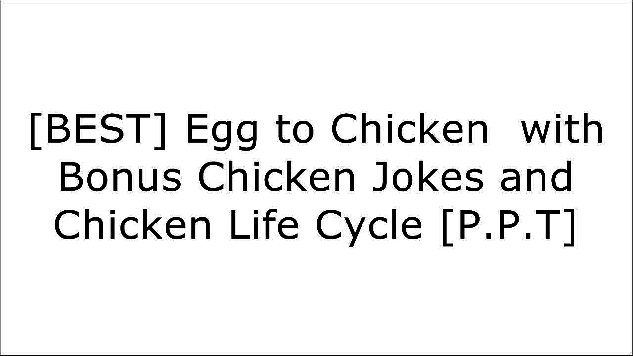 [JVGH1.E.b.o.o.k] Egg to Chicken  with Bonus Chicken Jokes and Chicken Life Cycle by Rich Linville, EduClips Commons Wiki K.I.N.D.L.E