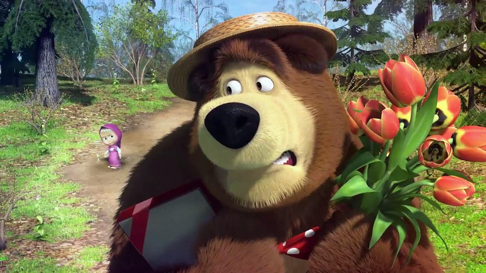 Masha E O Urso Episodio 7 Primavera Para O Urso Video Dailymotion