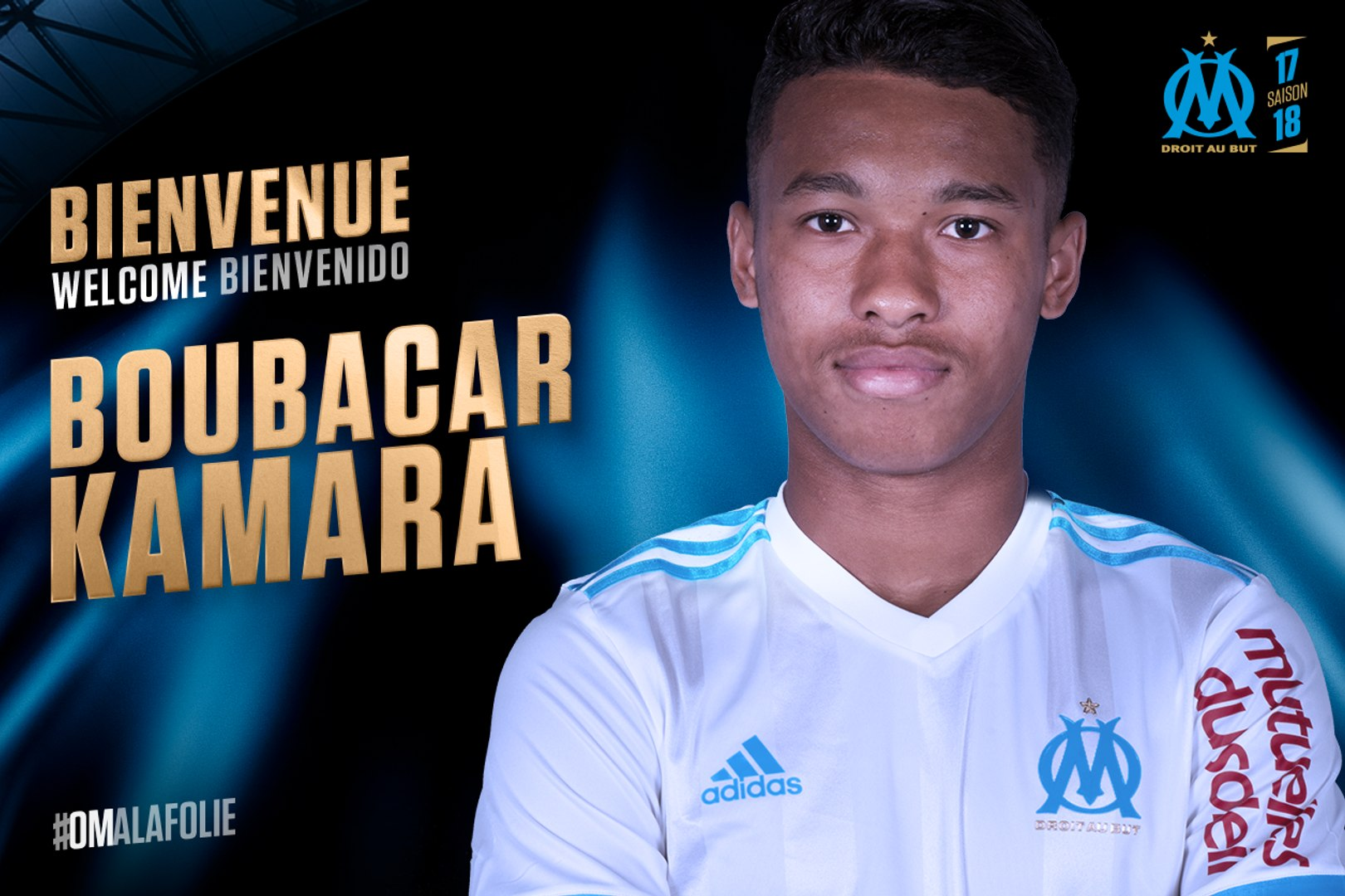 Boubacar Kamara passe pro à l'OM