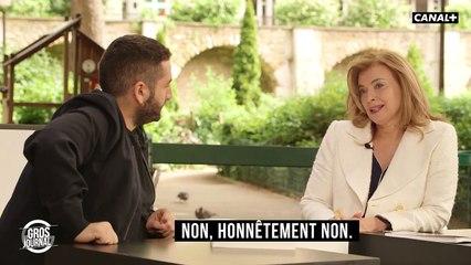 """Valérie Trierweiler : """"Un grand merci à François Hollande. Je lui ai demandé de l'aide, et il a été là !"""" - CANAL+"""