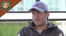 Roland-Garros 2017 Interview avec Lucas Pouille