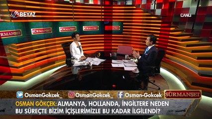 Osman Gökçek: Bu ülke kazanırsa herkes kazanır