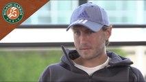 Roland Garros 2017 Interview avec Lucas Pouille, partie 1