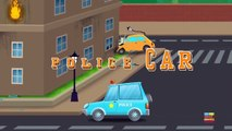 Emergency vehicles   learn vehicles   cars cartoons   video F