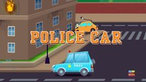 Emergency vehicles   learn vehicles   cars cartoons   video For