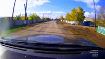 Hilariously Stupid Accident    RUSSIA (3 Wheeler Motorcycle vs Ca