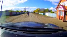 Hilariously Stupid Accident    RUSSIA (3 Wheeler Motorcycle vs