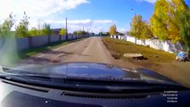 Hilariously Stupid Accident    RUSSIA (3 Wheeler Motorcycle v